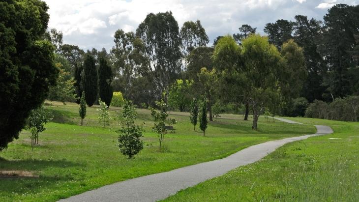 Ruffey Lake Park, Manningham Bike Trail