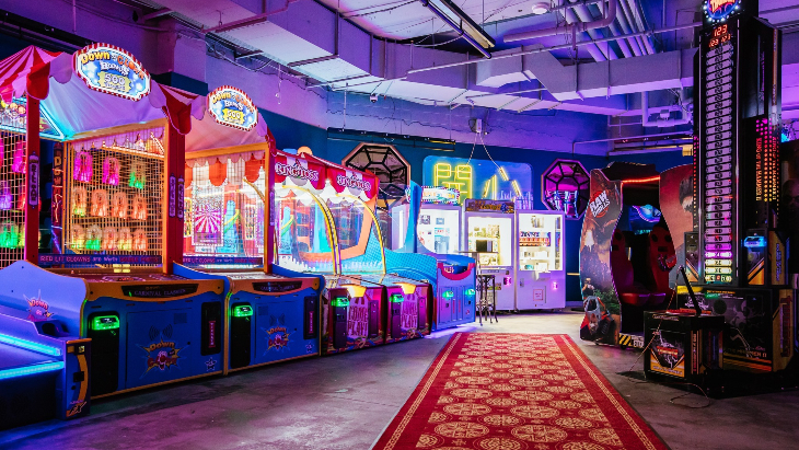 B. Lucky & Sons Games Arcade