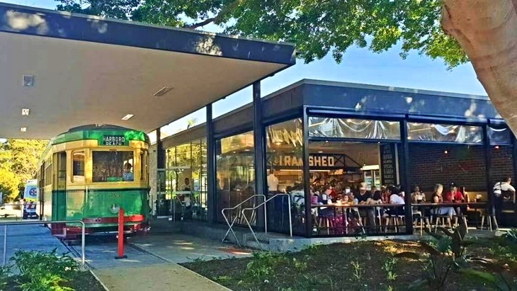 tramshed cafe narrabeen
