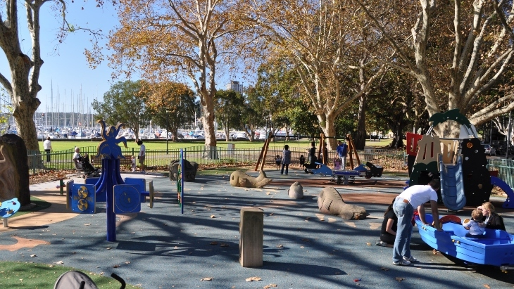 Rushcutters Bay Park Playground