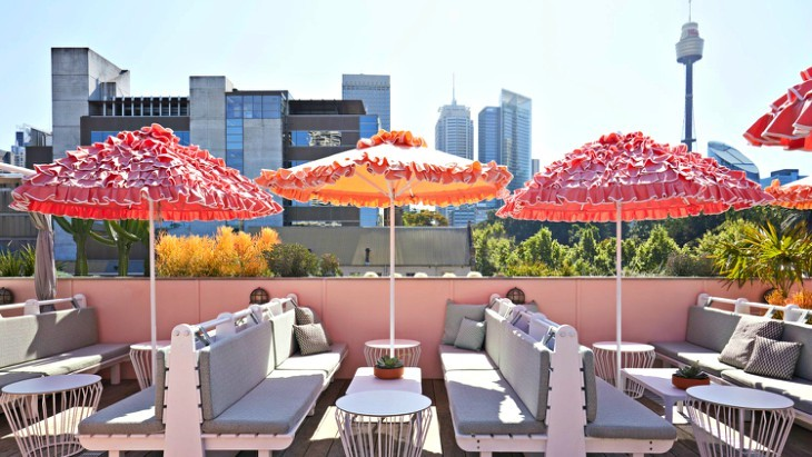 Slims Rooftop at Hyde Park House