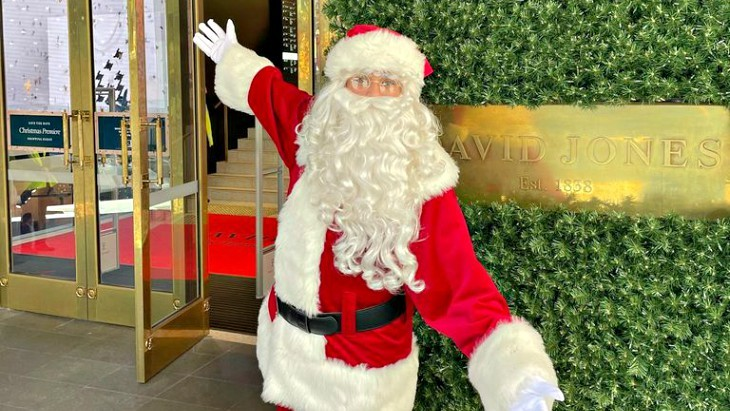David Jones Magic Cave is a special place to meet Santa this Christmas 2020
