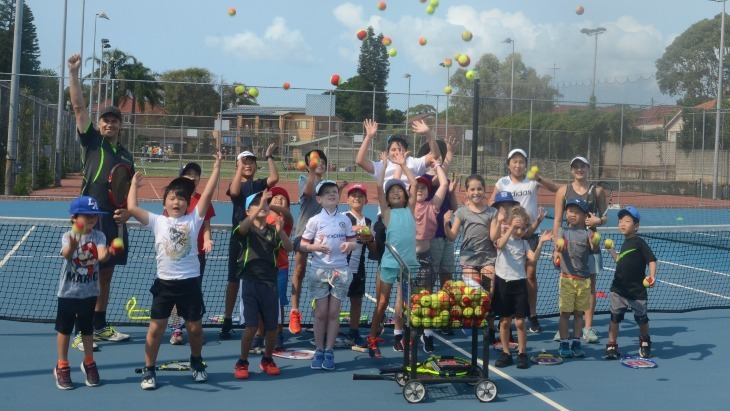 East Courts Tennis school holiday program