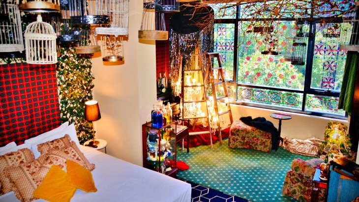 Wonderland Rooms - A Themed Pop-Up Hotel Experience In Sydney
