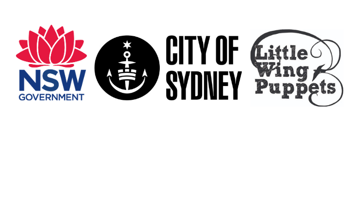 This project is supported by the City of Sydney and the NSW government through Create NSW.