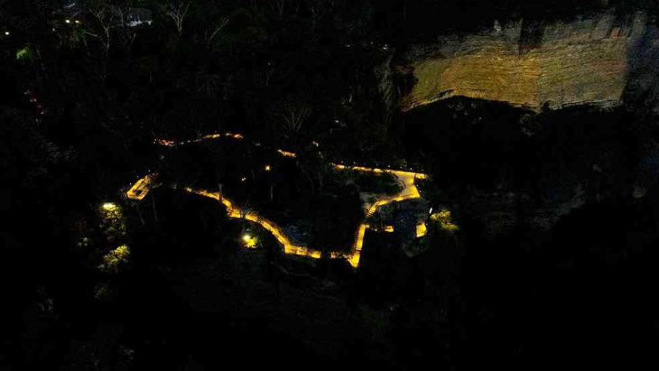 Katoomba Falls Reserve Night Walk