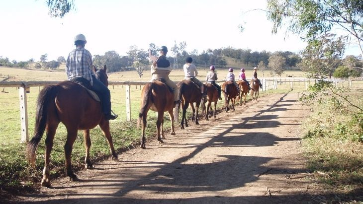 Mowbray Park Farmstay Trail Ride