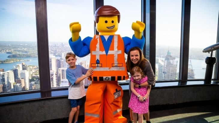 Brickman Cities powered by LEGO® CITY at Sydney Tower Eye