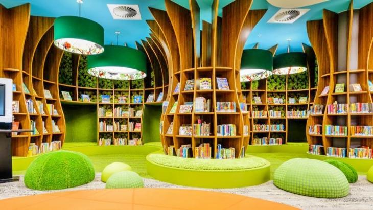 Kids Indoor Playground Cafe