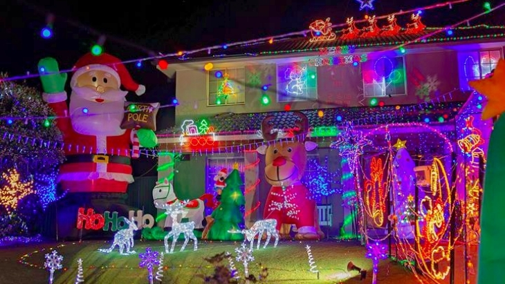 where to see christmas lights 2018 sydney suburb street ellaslist