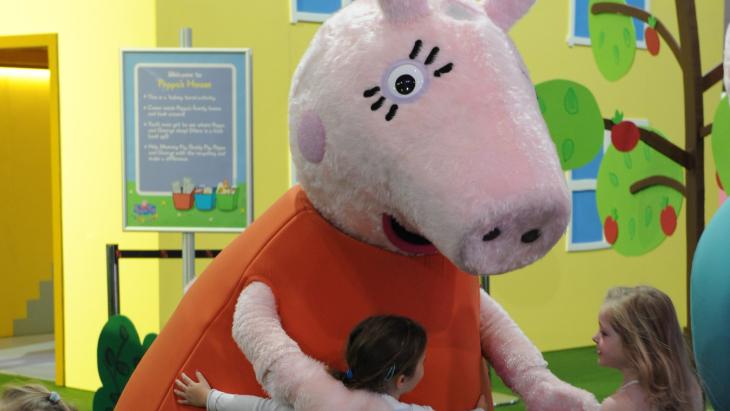 Peppa Pig Playdate Returns To Melbourne