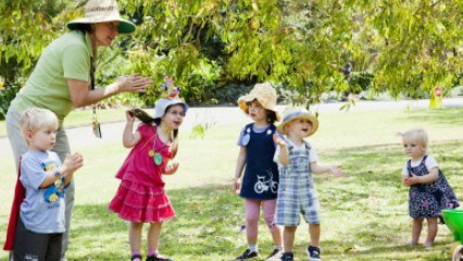 Royal botanic gardens discover nature toddlers sydney kids