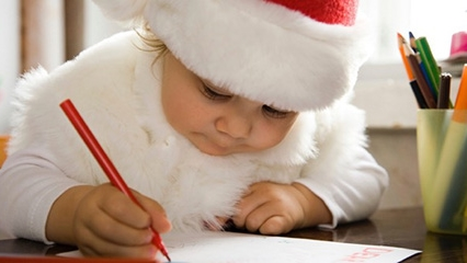 How To Write A Letter Santa With Your Child