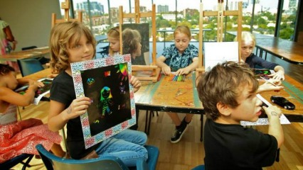 Creative kids summer holidays