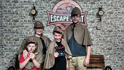 Escaoe hunt sydney review of group detective game experience with kids 426x240
