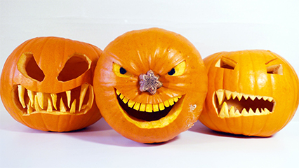 The best halloween carved pumpkins ever 426x240