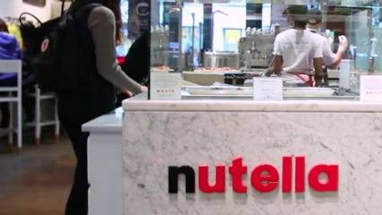 Nutella bar