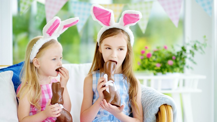 Easter chocolate overload tips healthy