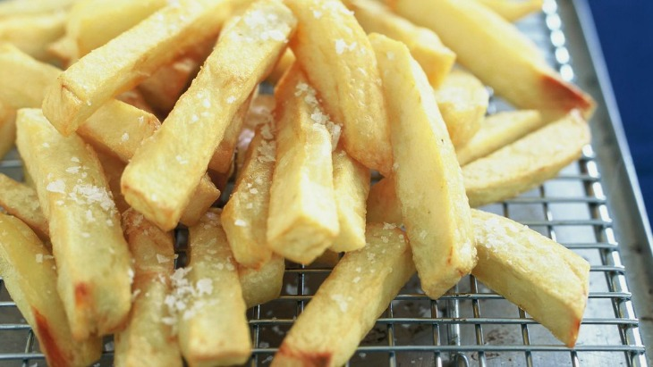 Hot chips banned school