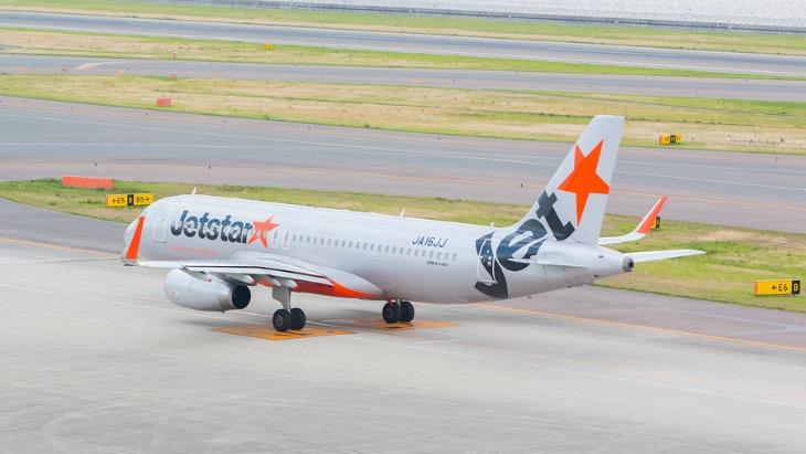 Jetstar charges for babies
