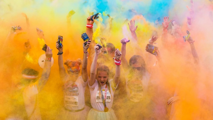 Color run families sydney