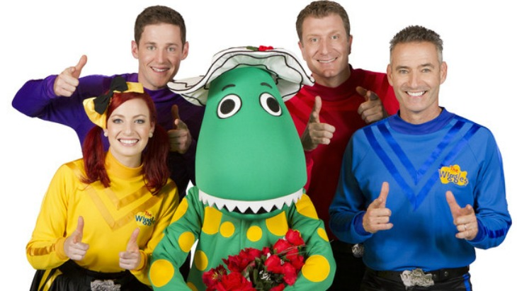 The wiggles marriage