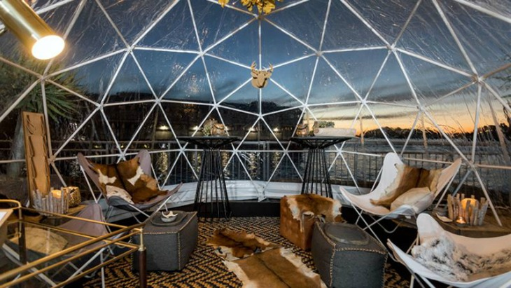 Sydney igloo bar pier one