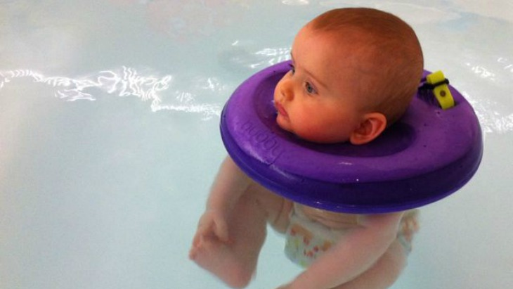 Baby swim neck floaties