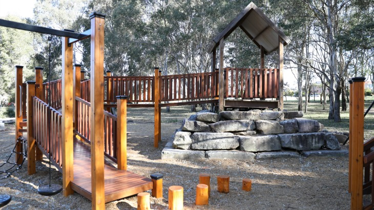 Renovated parklea playground