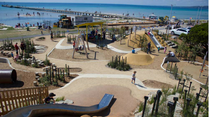 Six of the best new playgrounds in melbourne