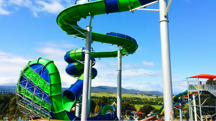 6 of the best waterslides in melbourne