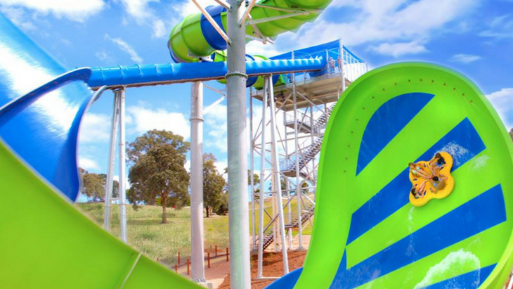 Heat got you down  cool off on melbourne's new world record breaking waterslide