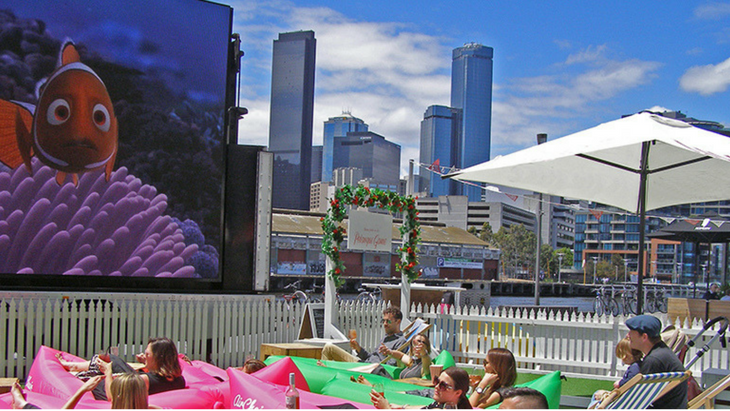 Best outdoor cinemas and theatre pop ups in melbourne for kids