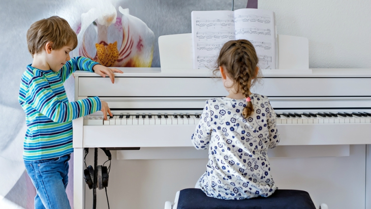 Music learning brain power