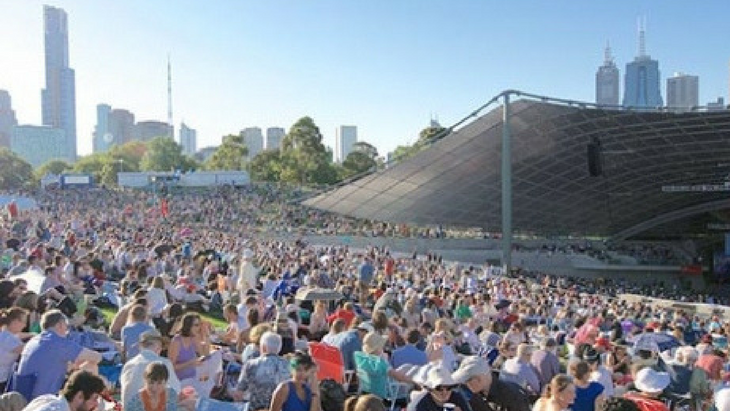 Summer in the city soundtrack  check out the sidney myer free concerts this february