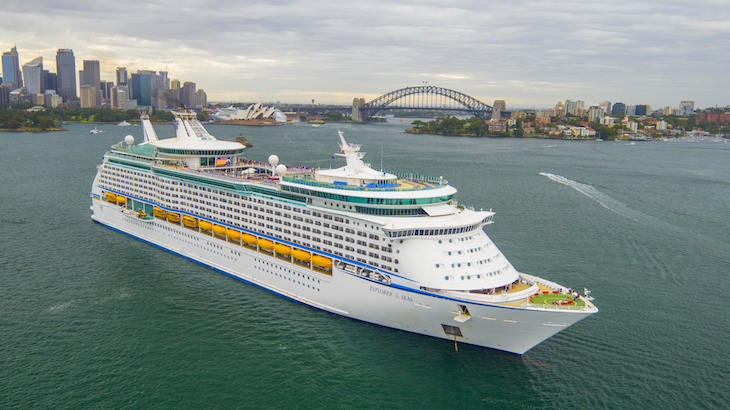 Explorer of the seas ship sydney