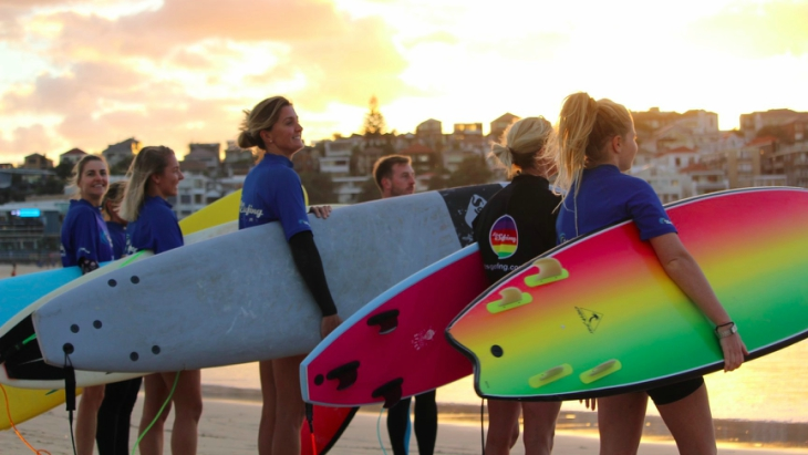 North bondi ban surfing news