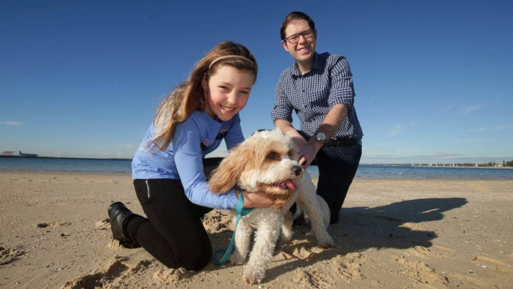 Image result for New Dog Beach in Sydney Was Opened Thanks to Local Nine Year Old Student
