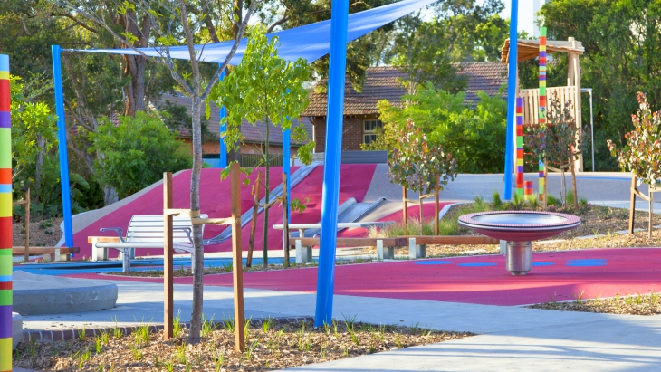 Bankstown playground inclusive