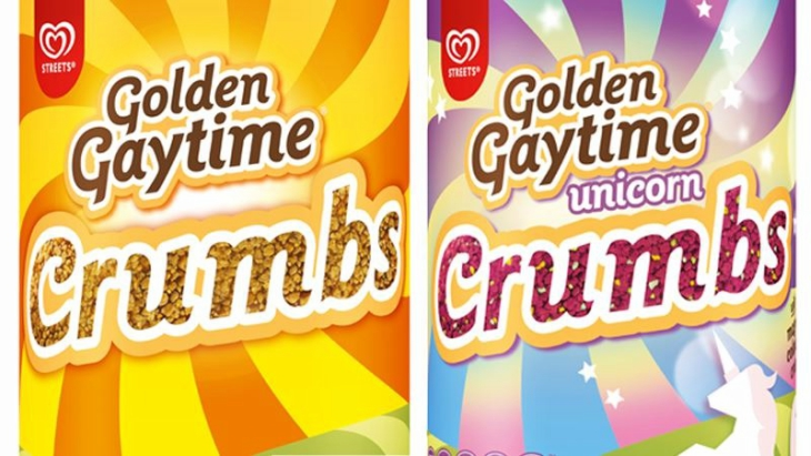 Golden gaytime unicorn