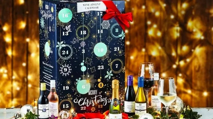 Aldi advent calendar wine
