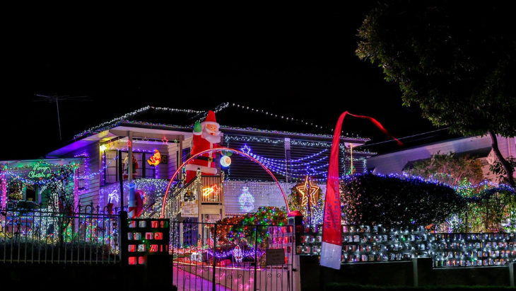 4kq's best christmas lights in south brisbane