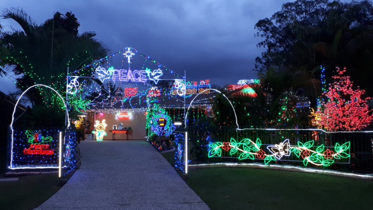 4kq's best christmas lights in north brisbane