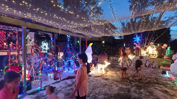 4kq best christmas lights in brisbane west and ipswich