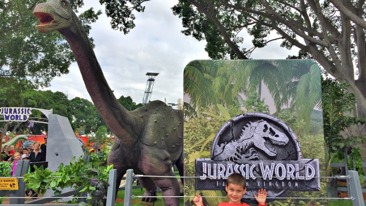 Eastershow 2019 dinosaurs