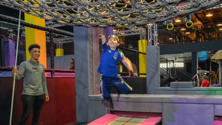 Tru ninja warrior park penrith new