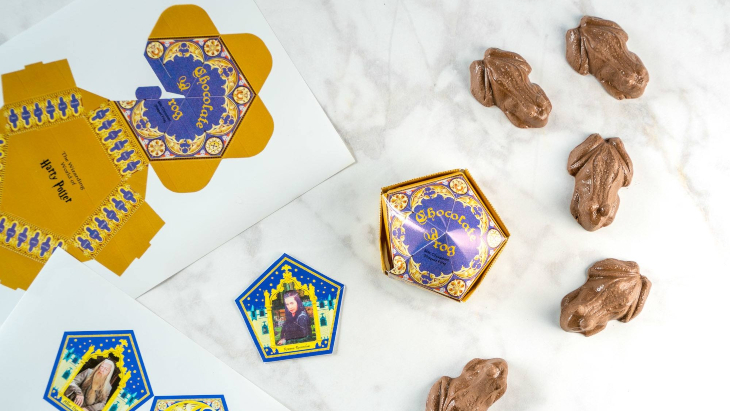 Harry potter chocolate frogs %281%29