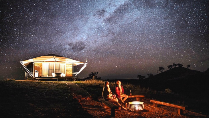 Sleep under stars nsw kids