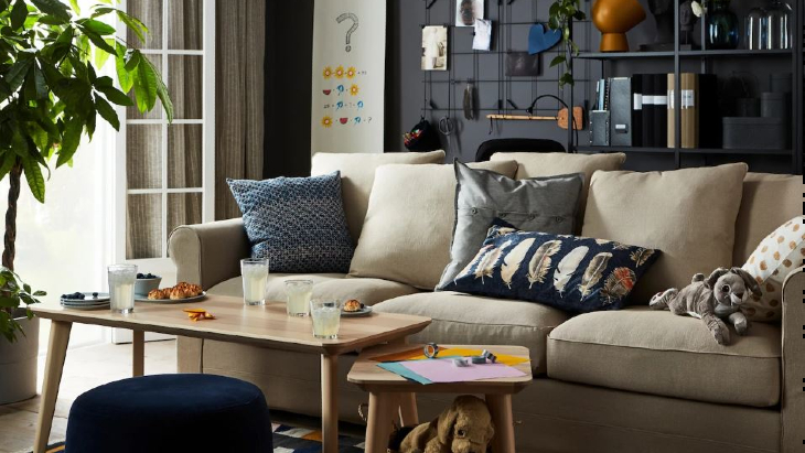 Ikea living room playground kids games