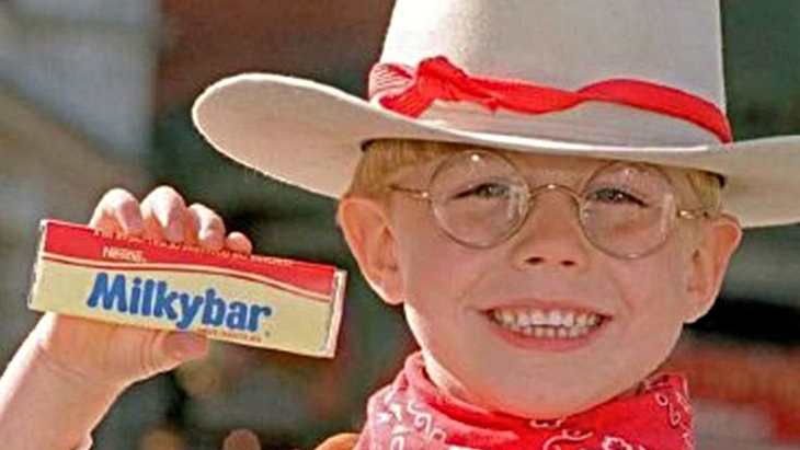 Nestle milkybar kid